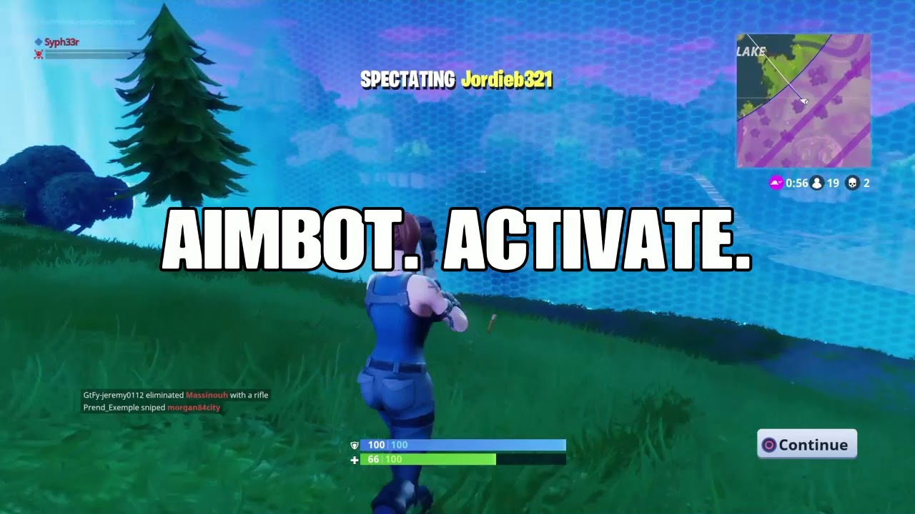 ps4 aimbot fortnite