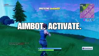 Fortnite Battle Royale PS4 Aimbot Hacker (obvious at 1:39)