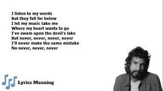 Cat Stevens - The Wind | Lyrics Meaning
