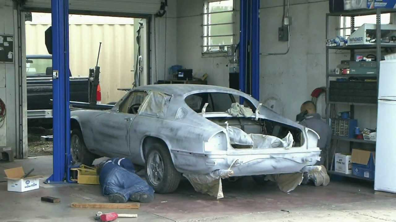 restauration jaguar xjs