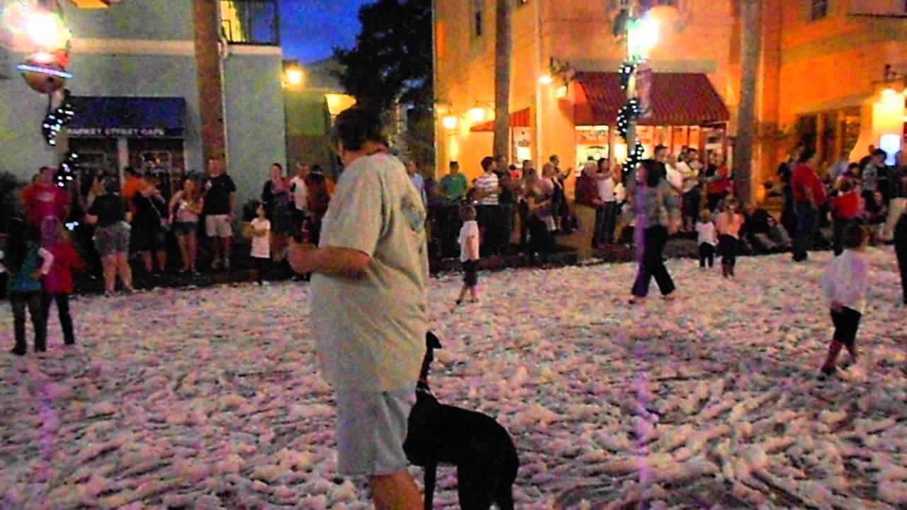Christmas At Celebration, Florida - 12-20-12 - YouTube