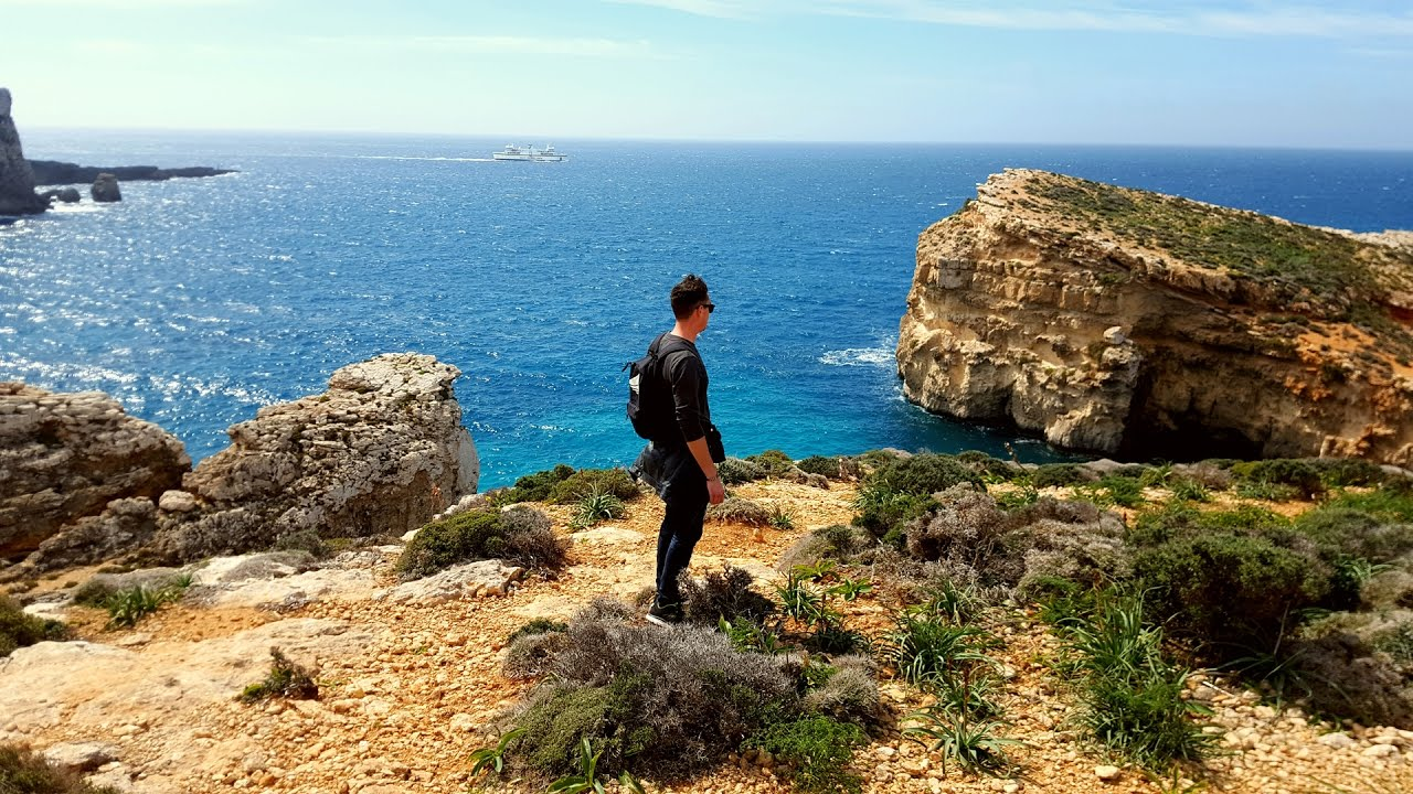 Amazing Cliffs On Malta Dingli Cliffs And Blue Grotto