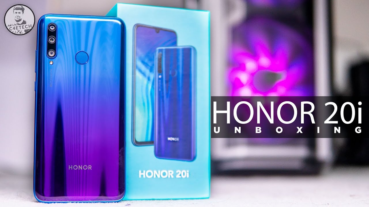 Honor 20i Unboxing & Hands On - Triple Cam & Great Looks!