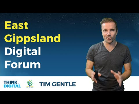 Gain a Competitive Advantage In Today's Digital World - East Gippsland Digital Forum