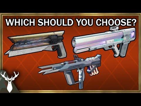 Destiny 2 - Sunshot, Risk Runner, Graviton Lance - Which Should You Get?