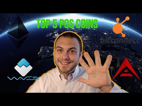 🤑 TOP 5 PROOF Of STAKE COINS | COINS THAT PAY YOU TO HAVE THEM! 💰