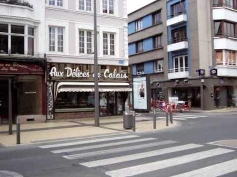 Visite personnelle de la ville de Calais...