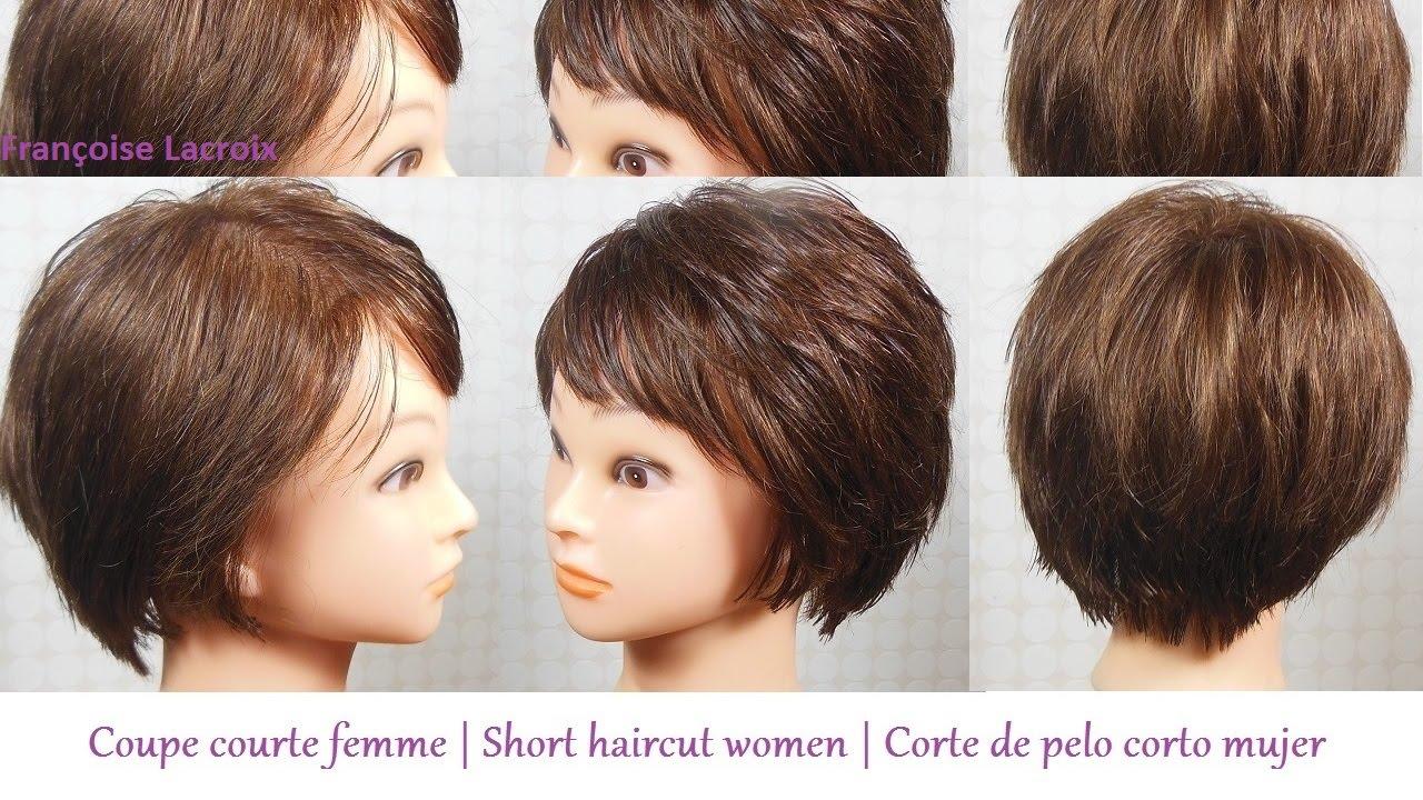 coupe courte femme frange short haircut for women. Black Bedroom Furniture Sets. Home Design Ideas