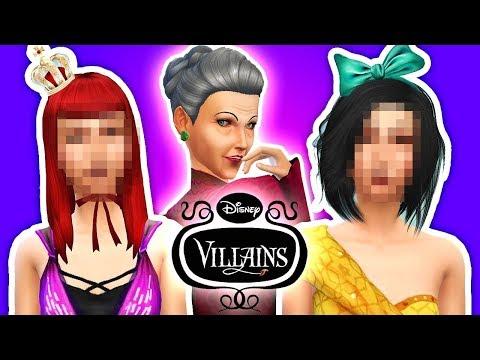 😈CINDERELLA'S EVIL STEPSISTERS😈 The Sims 4 Disney Villains #3!