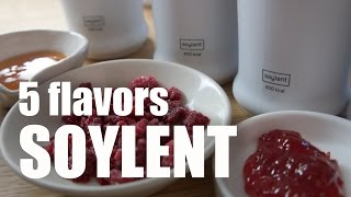 5 Flavors of Soylent