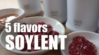 5 Flavors of Soylent