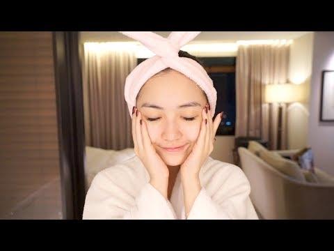 Dưỡng Da Buổi Tối Cùng Chloe ở Seoul 💃 Get Unready With Me in Seoul | Chloe Nguyen