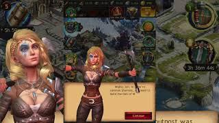 Vikings: War of Clans - on iPad