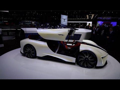 China Created Electric Cars Shine at Geneva Motor Show