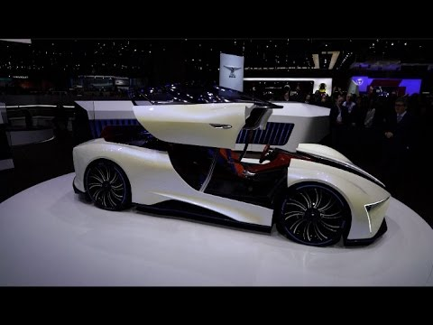 China Created Electric Cars Shine at Geneva Motor Show