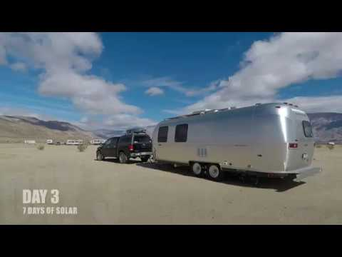 E29 - When to charge your electronics.Day Three of 7 Days of Solar,  Fulltime Airstream Solar Living