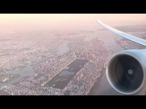 United Polaris Class (777-300er) Takeoff from Newark (EWR)