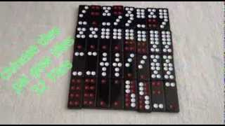 Pai gow tiles or chinese tiles pair