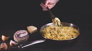 Spaghetti Carbonara The Traditional Way