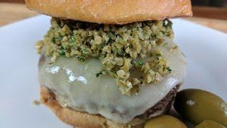 Hamburger Recipes   All American Olive Burger Recipe