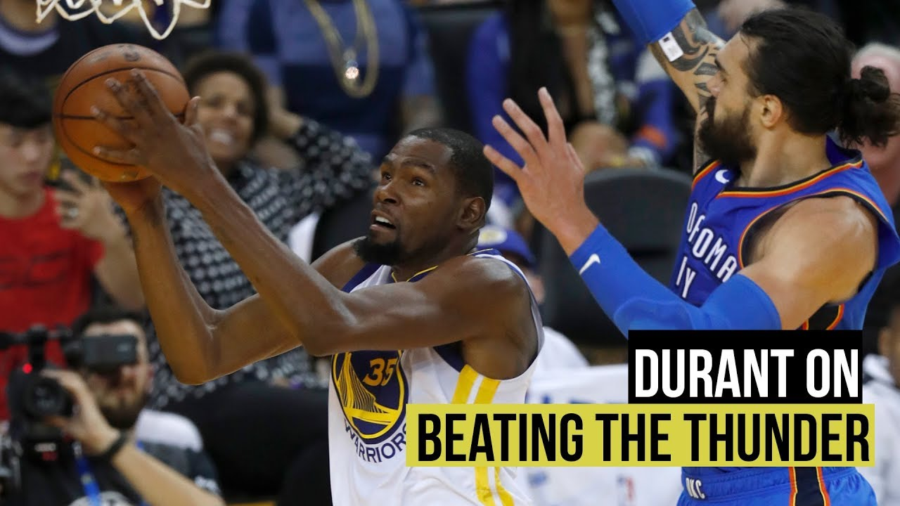 Kevin Durant on opening night win over Oklahoma City Thunder