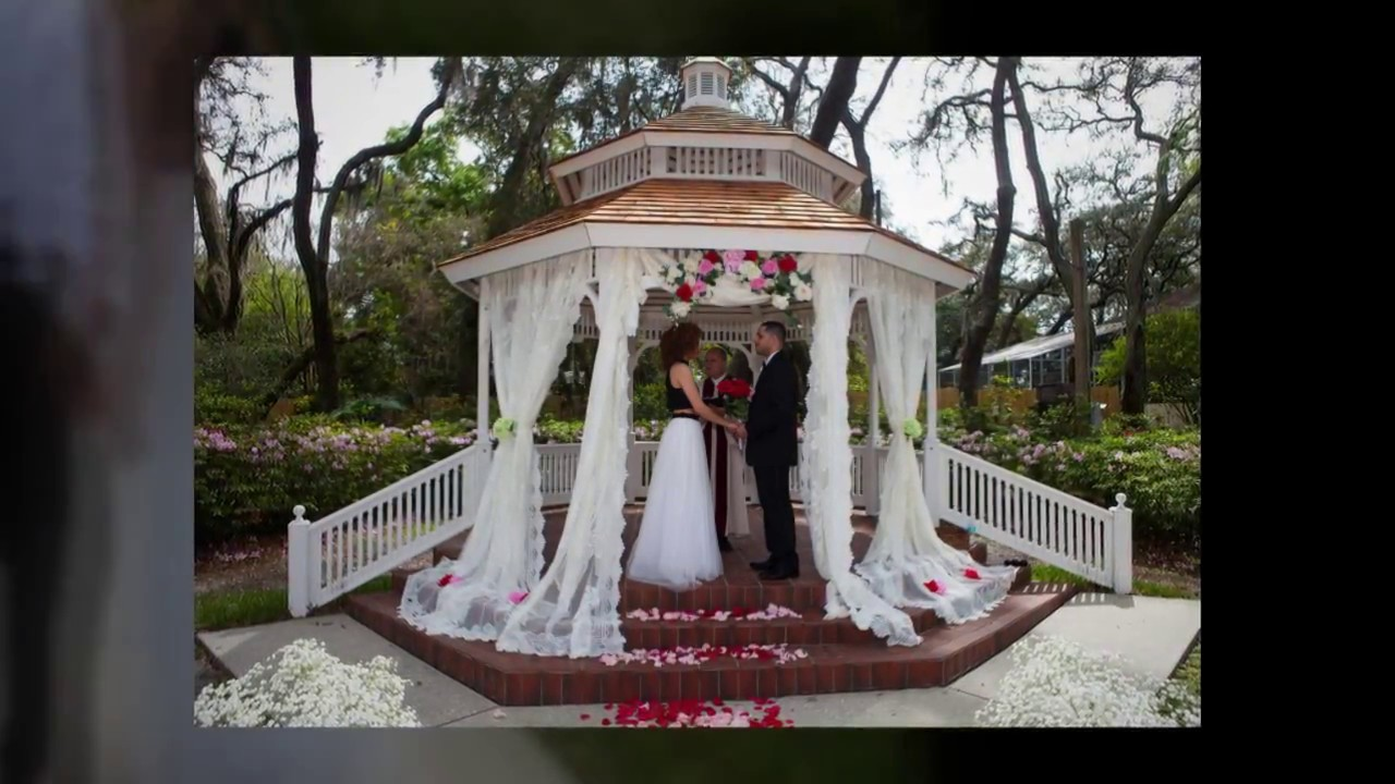 Woodmont Clubhouse Gazebo Wedding Youtube