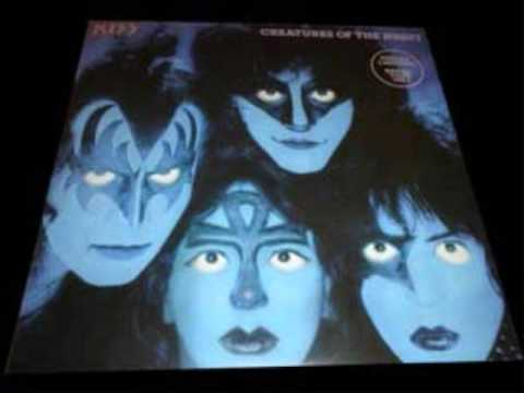 Rare Kiss Creatures Album With Vinnie Vincent On Cover