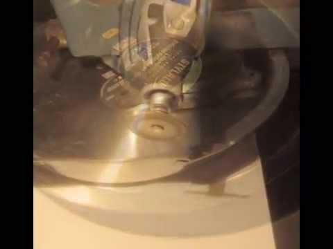 Dremel 4200 - Découper De L'Aluminium - Youtube