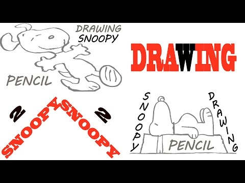 Comment dessiner SNOOPY EASY thumbnail