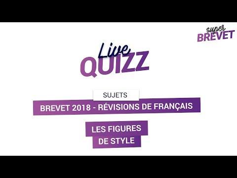Bac et Brevet 2018 - Révisions de Français : Les figures de style