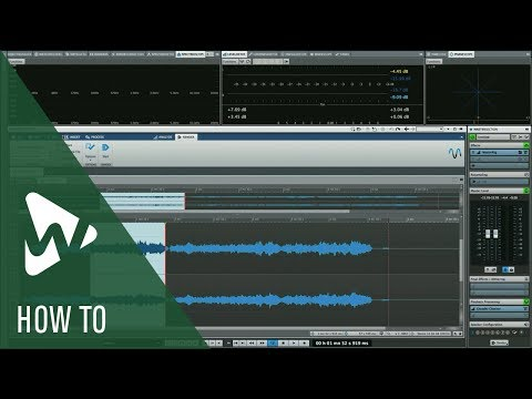 How to Render Existing Edits and Plug-ins to Your Audio in WaveLab | Q&A with Greg Ondo