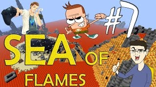 MINECRAFT : SEA OF FLAMES - IN CERCA DI FUNGHI! w/SurrealPower & Vegas #7