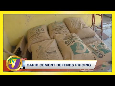 Carib Cement Defends Pricing   TVJ Business Day
