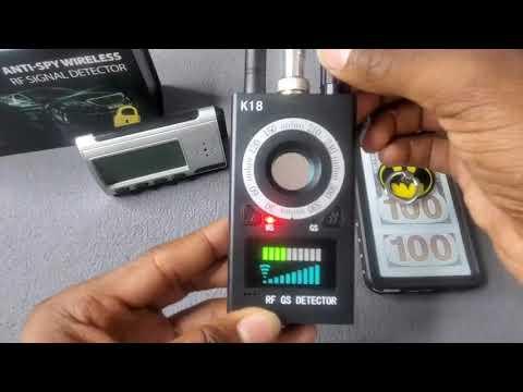 Anti-Spy Wireless RF Signal Detector Review By Slick