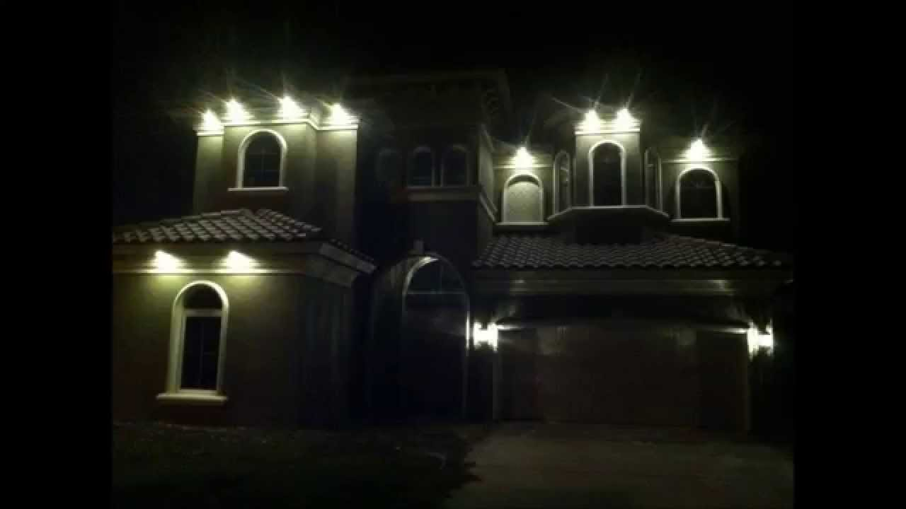Downlighting In Soffits Using LED Energy Efficient Light Bulbs YouTube