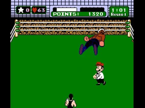 Punch-Out !! (NES) Great Tiger Strategy, TKO On 2:14
