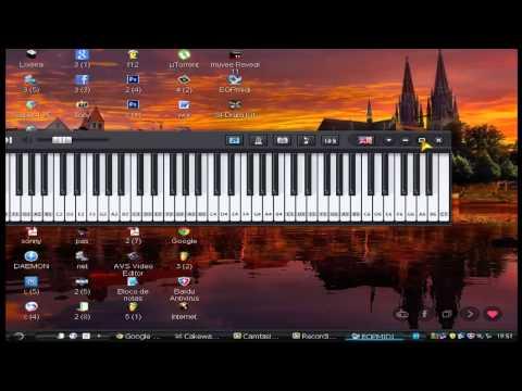 como baixar um piano virtual rápido