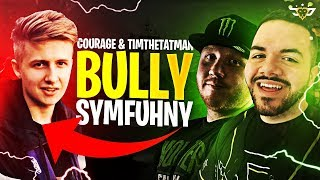 COURAGE AND TIMTHETATMAN BULLY SYMFUHNY! THE ULTIMATE BETRAYAL! (Fortnite: Battle Royale)