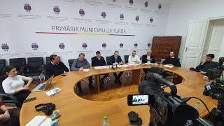 Live: Conferință de presă Primăria Turda (16.01.2020)