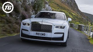 FIRST DRIVE: Rolls-Royce Ghost Review. 5.5 metres of sublime luxury | Top Gear