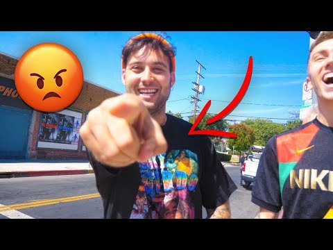 Jake Paul's friend Chad attacked me! (Not click bait)