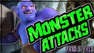 TH10 and TH11 MONSTER ATTACK STRATEGIES | BOWITCH - MINERS | Clash of Clans