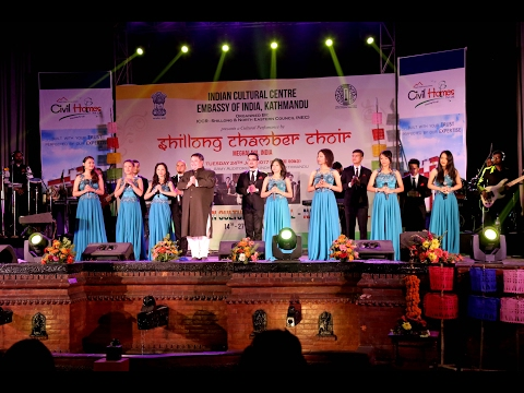 """""""Days of North-East Indian Cultural Festival – Namaste Nepal"""" performance by Shillong Chamber Choir"""