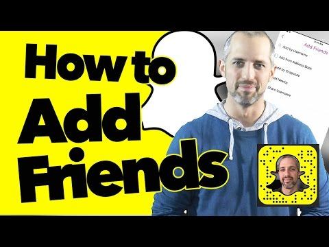 Snapchat Tutorial 101: How to add friends by Snapcode, username, and add nearby