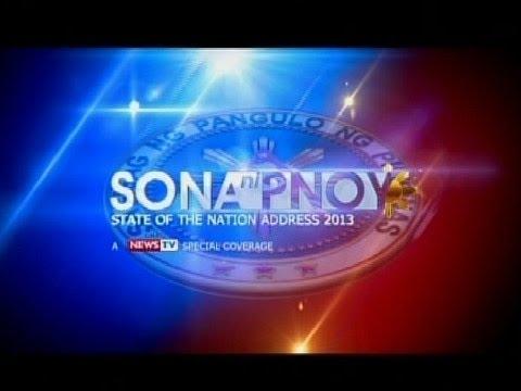GMA News TV live coverage: SONA 2013: Part 1
