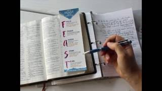 How to Study the Bible Using the FEAST Method