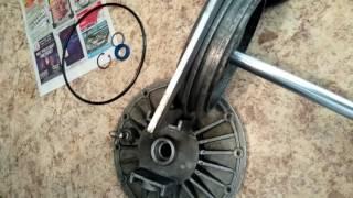 Пристрій і ремонт віджимного пневмоциліндра шиномонтажного стенду гаро с601