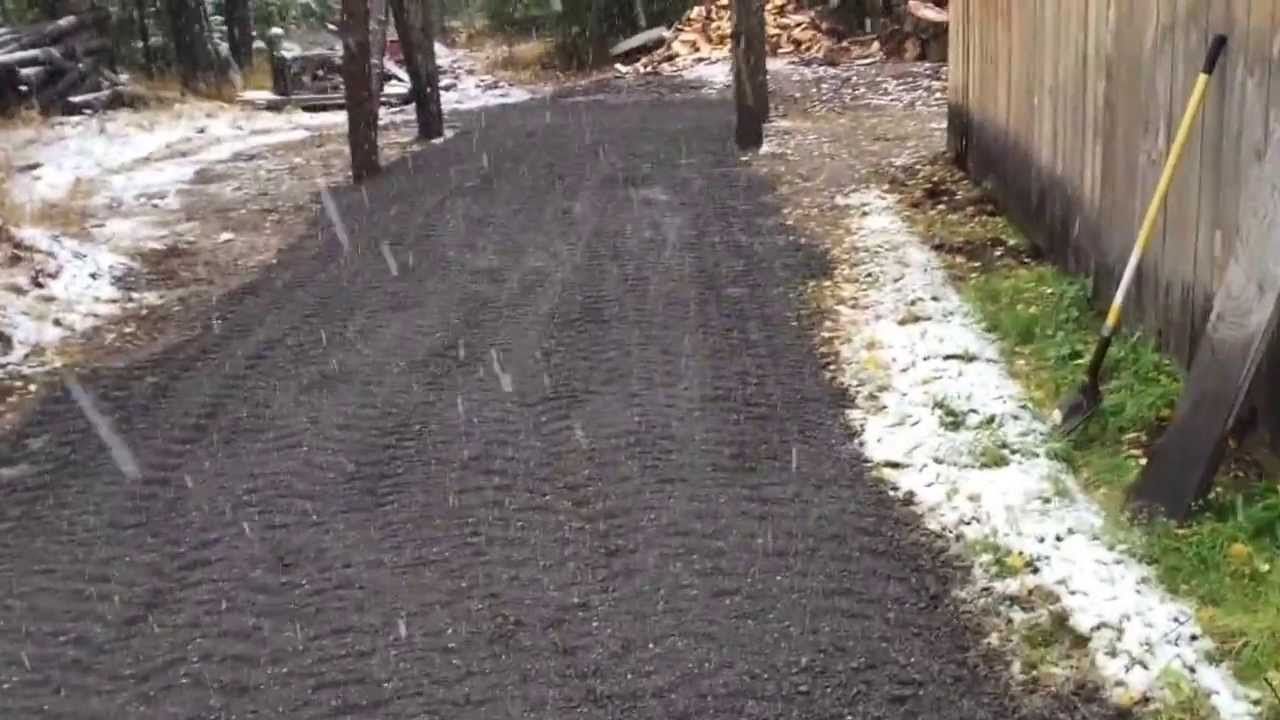 Recycled Asphalt Before And After Youtube