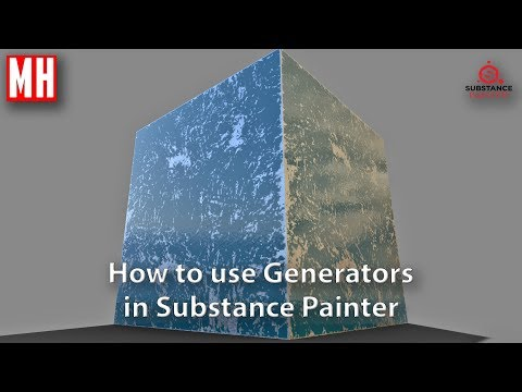 How to use Generators in Substance Painter 2.6.1