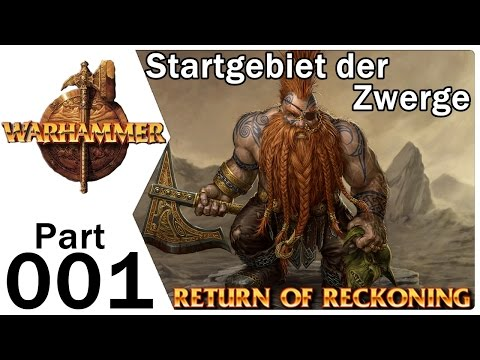 Warhammer Online Return of Reckoning Zwerge #001 Startgebiet Dwarves | Gameplay Deutsch German